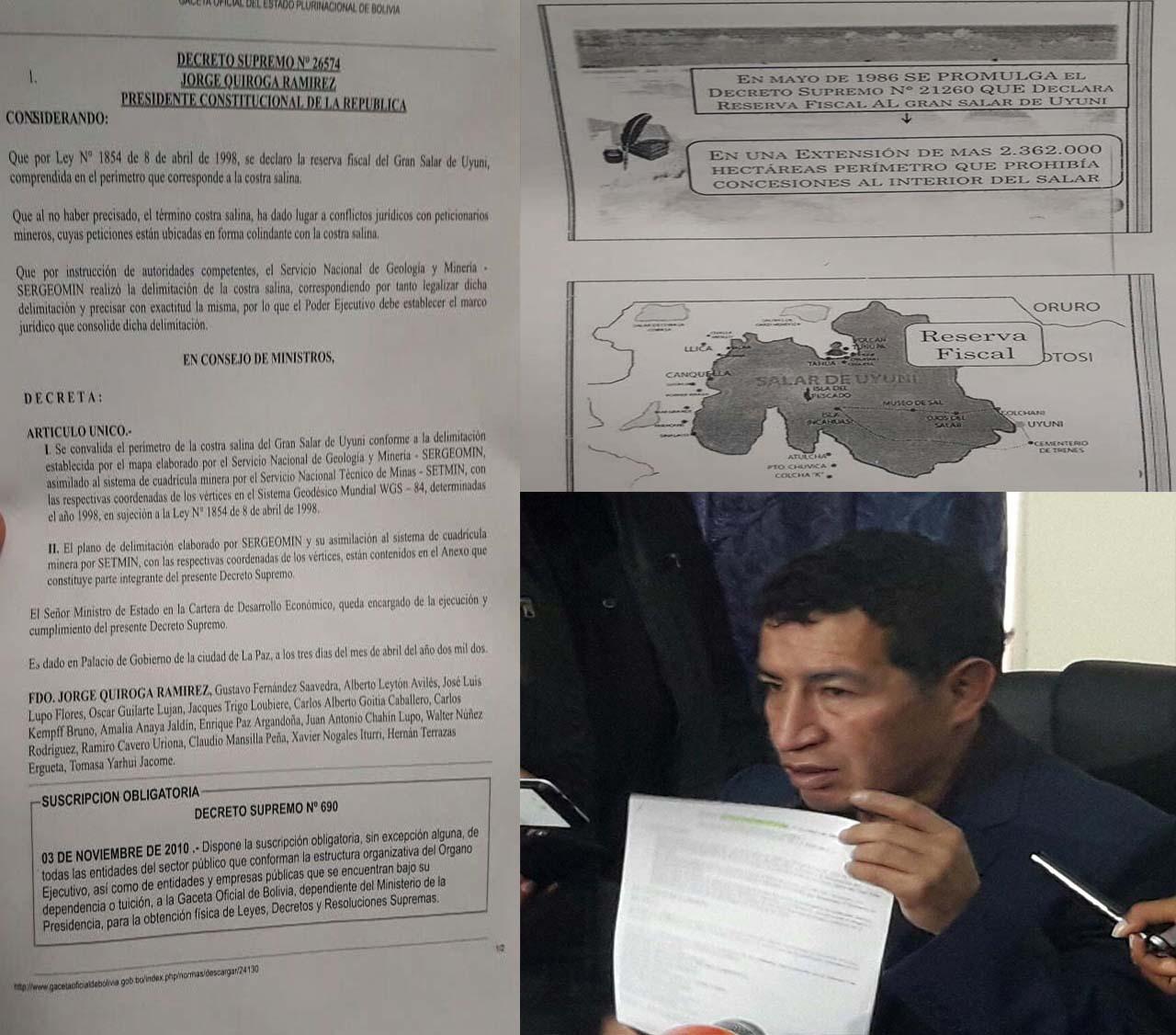 Diputado del MAS iniciará un juicio de responsabilidades contra Tuto Quiroga