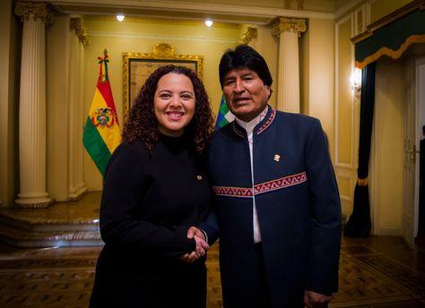 Fallece la embajadora de El Salvador en Bolivia