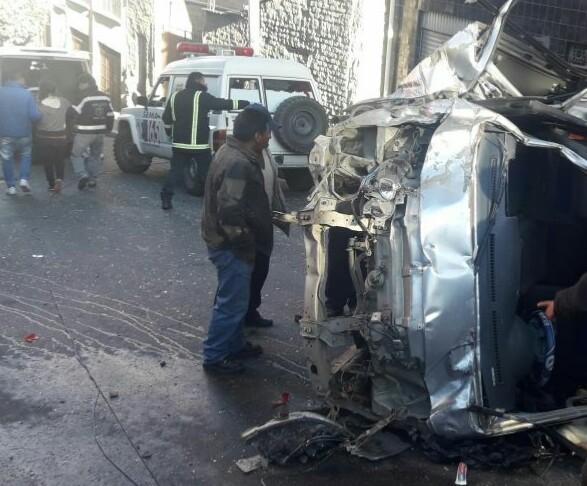 Hecho de tránsito en Villa Copacabana deja saldo de 11 heridos