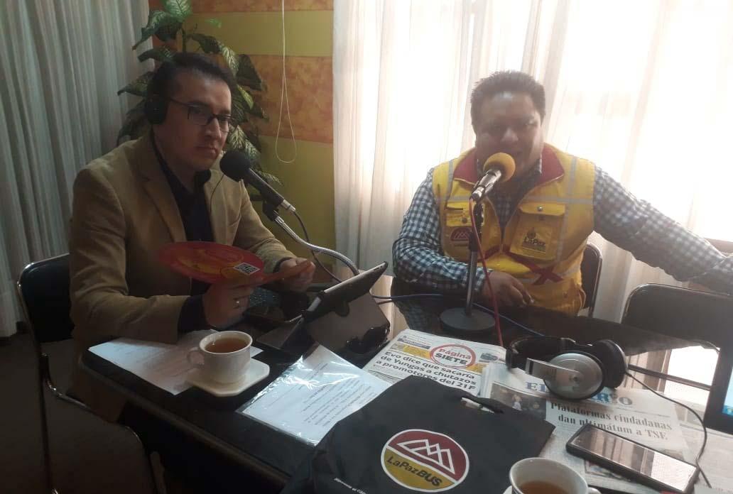 Pumakatari habilitará la línea más grande de la Paz Bus