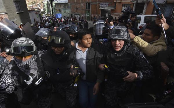 Detienen al presidente de ADEPCOCA Franklin Gutiérrez