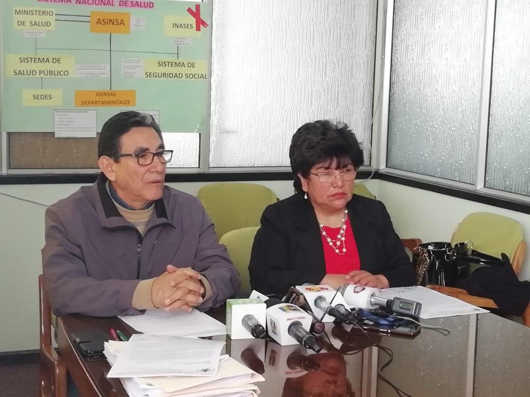 FESIMRAS advierte con paro nacional si no son escuchados