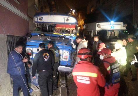 La policía identificó al chofer que protagonizó el accidente en Villa Copacabana