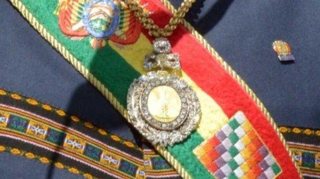 Ministerio de Gobierno afirma que el robo de los símbolos presidenciales no fue planeado