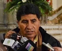 Cocarico afirmó que la Ley General de la Hoja de Coca no será abrogada y la erradicacion continuará