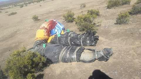 Identifican a los cuatro cadáveres envueltos en bolsas plásticas hallados en Oruro