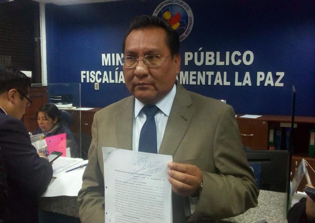 Magistratura presentó denuncia en contra de Patricia Pacajes ante el Ministerio Público