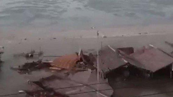 Tsunami golpea el norte de Indonesia