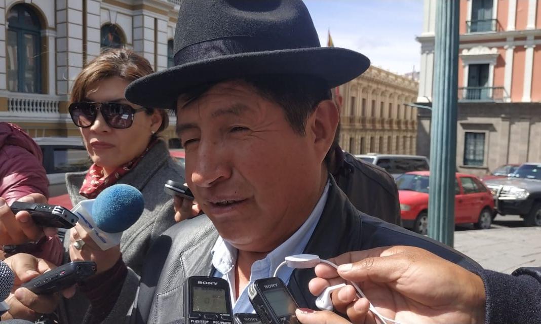 Diputado Rafael Quispe califica de elitista la alianza de Carlos Mesa y Luis Revilla