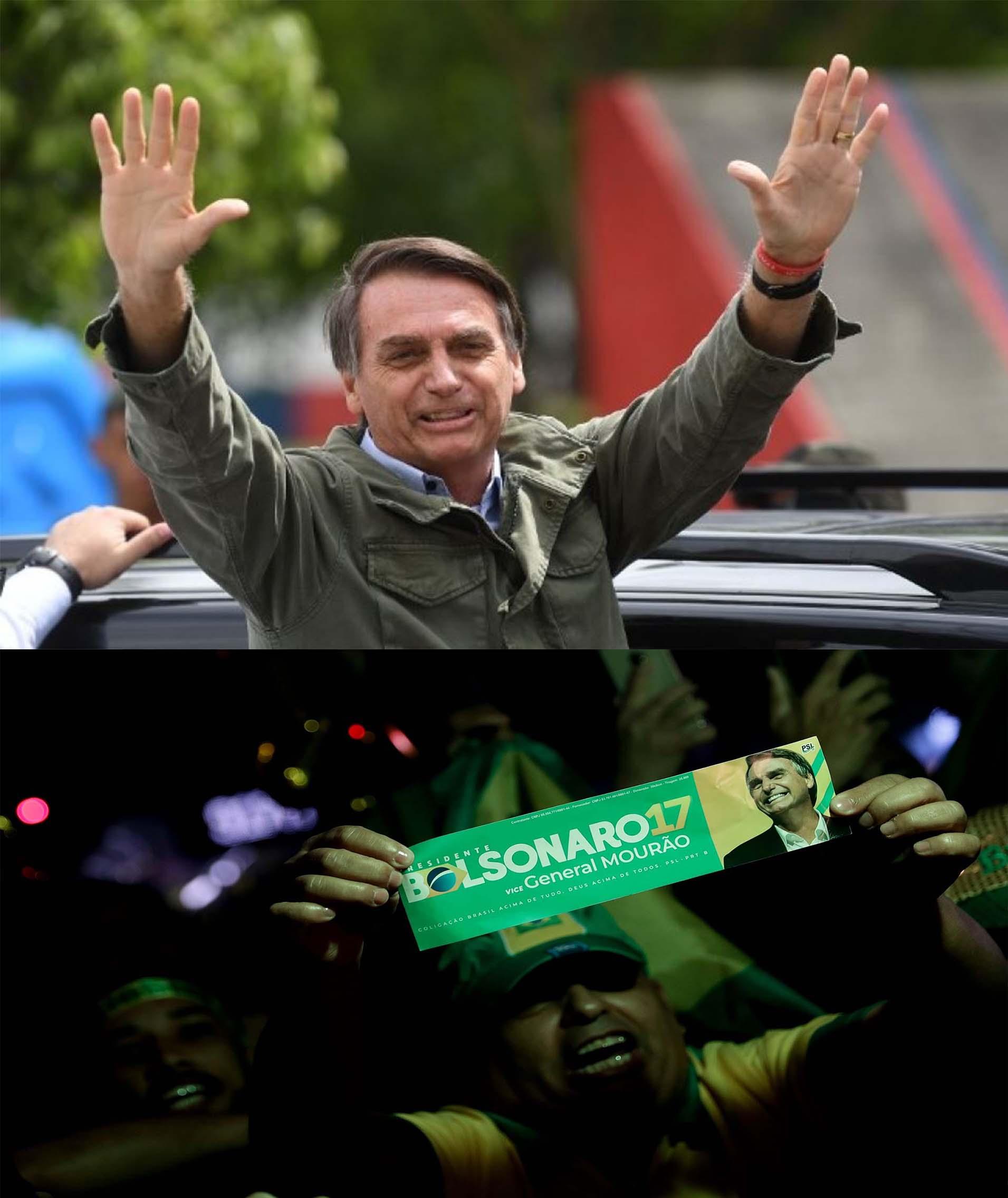Jair Bolsonario ganó las elecciones presidenciales en Brasil