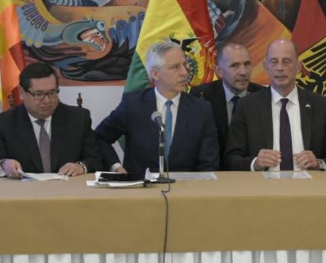 La amnistía de Carlos Mesa y Jorge Quiroga por el caso quiborax y petrocontratos podría tratarse este martes  en la ALP