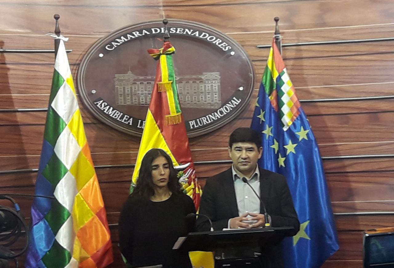 Milton Barón y Gabriela Montaño califican de injusta el fallo de la CIJ