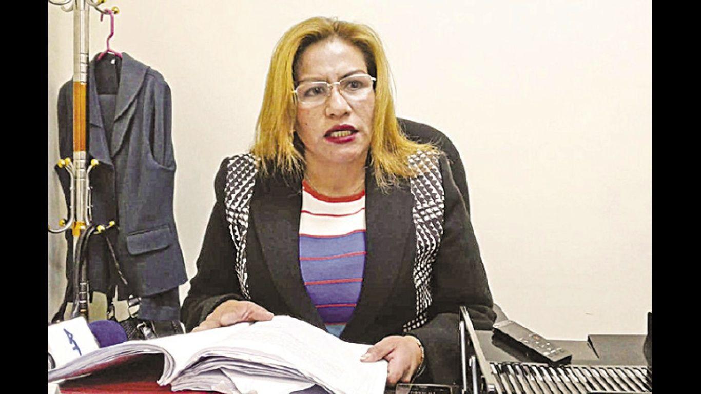 Patricia Pacajes prestó su declaración informativa por el caso del bebé Alexander