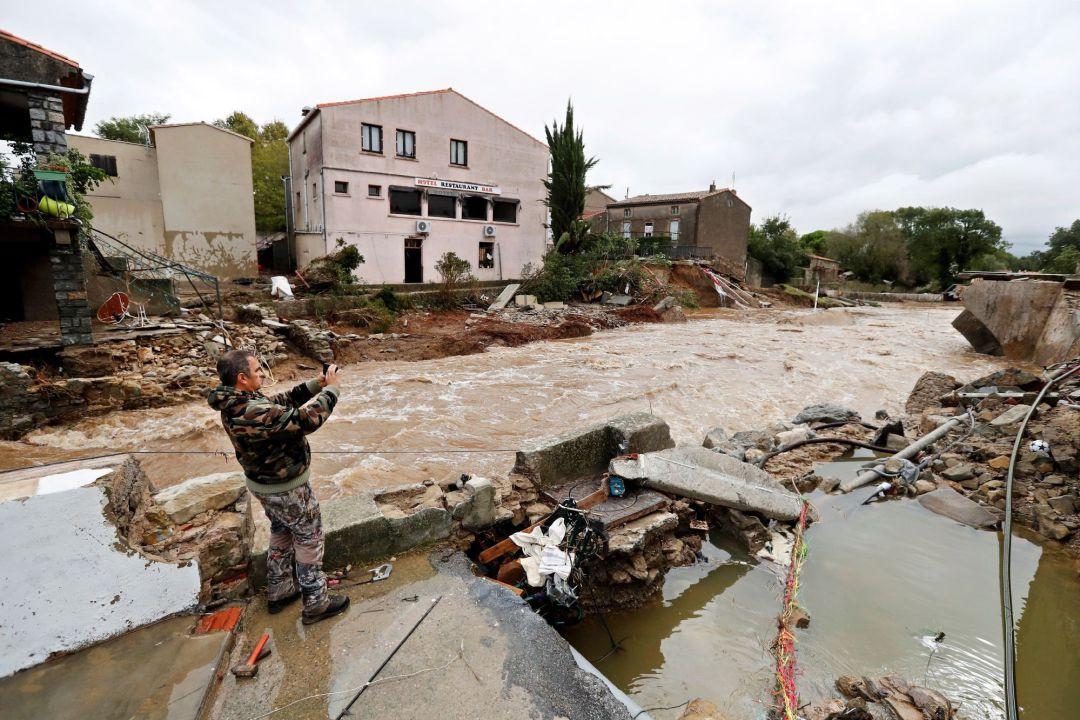 Tormenta Leslie deja al menos 13 muertos en el sur de Francia