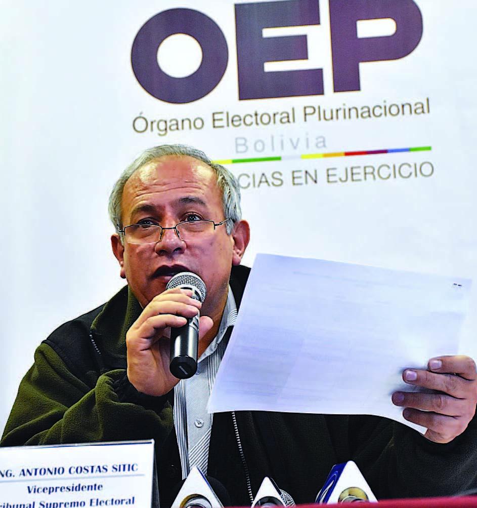 Tres vocales del TSE presentaron disidencia a reglamento de elecciones primarias