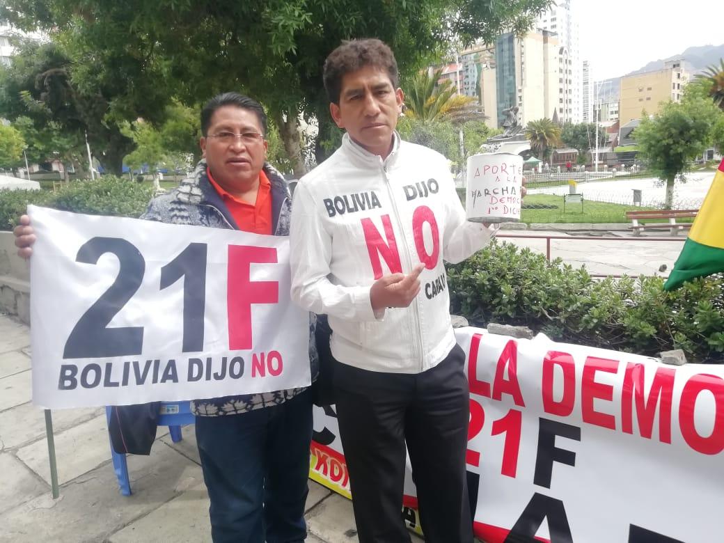 Activistas de la lucha por el 21F de Konani saldrán a marchar este 1 de diciembre por la democracia