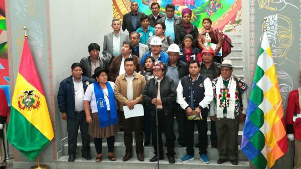 CONALCAM proclama a Evo y Álvaro como candidatos para las elecciones del 2019