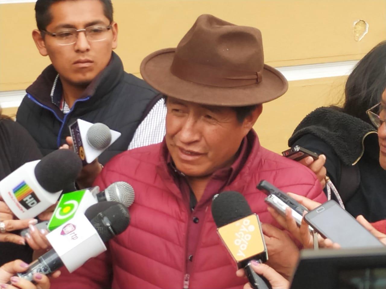 Rafael Quispe impugnará la candidatura de Linera y Morales este 8 de diciembre