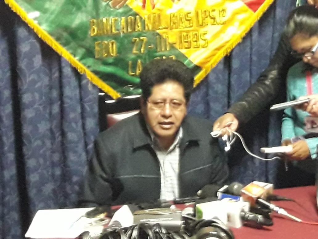 Diputado del MAS David Ramos crítica las alianzas de la oposición