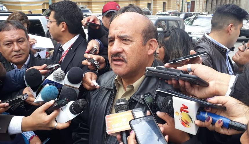 El exmayor David Vargas viajará este viernes al Tribunal Constitucional en Sucre para presentar un recurso Constitucional