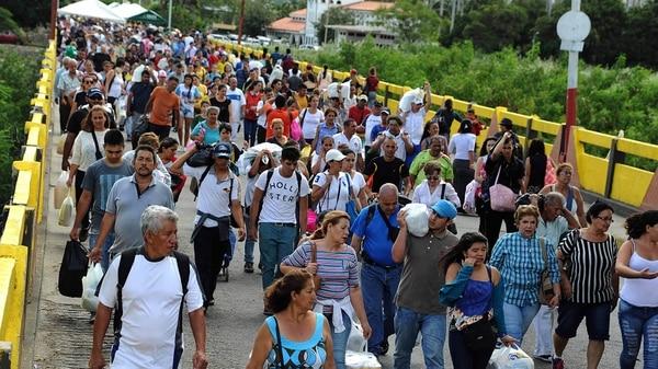 El Gobierno colombiano confirmó que más de un millón de migrantes venezolanos se radicaron en el país