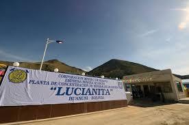 """El ingenio minero """"Lucianita"""" inicia su etapa de prueba después de tres años de su inauguración"""
