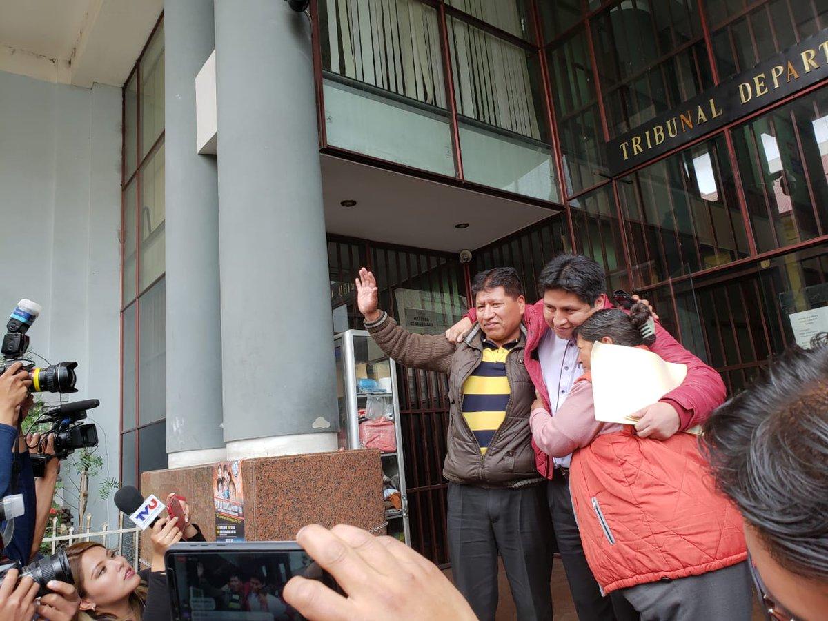 El médico Jhiery Fernández obtuvo libertad pura y simple