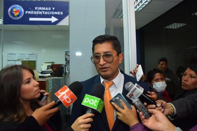 Exfiscal Edwin Blanco renuncia a su cargo en la unidad de Registro Biométrico