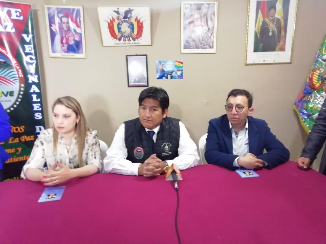 FEJUVE La Paz y Centro Fuente de Vida realizarán campañas de salud para contrarrestar el paro del Colegio Medico