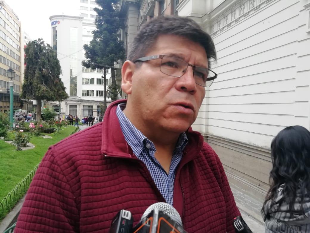 Felix Patzi dejará su cargo de gobernador para poder postular a las elecciones del 2019