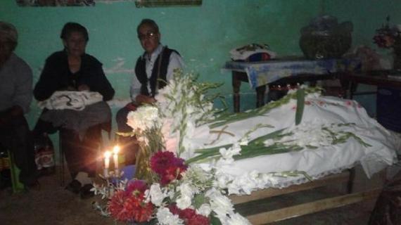 La familia de Franklin Gutiérrez no enterrará al hijo menor del dirigente hasta que le otorguen libertad