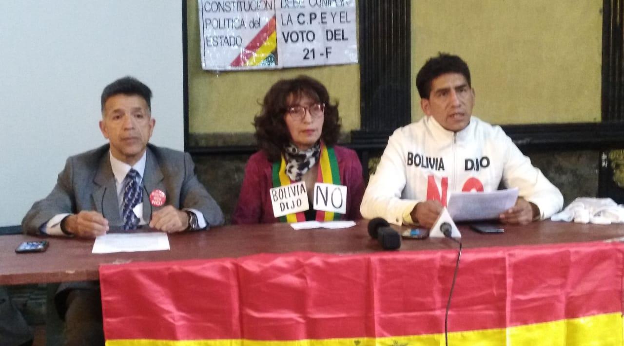 """Plataformas del 21F convocan a la """"gran marcha"""" en defensa de la democracia y libertad"""