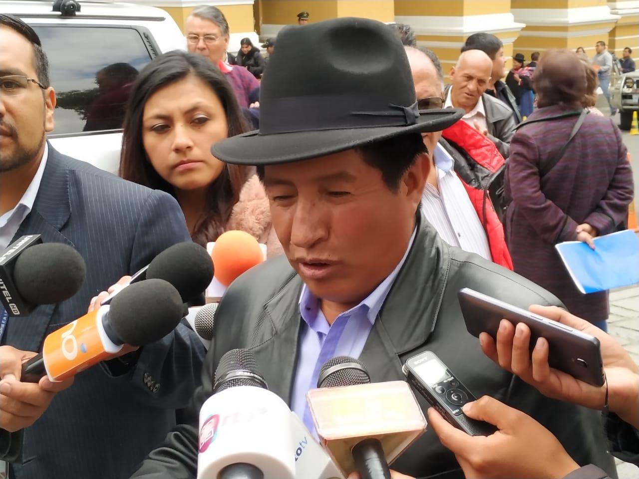 Rafael Quispe presentará su binomio por el MAS a una mujer indígena de Oruro