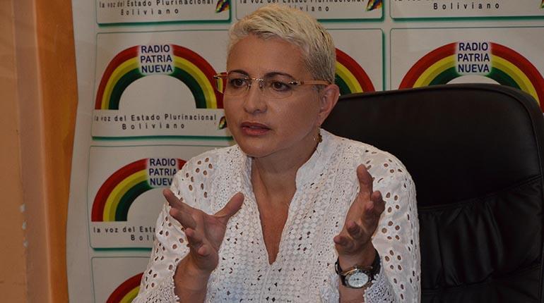 Diputada Susana Rivero asegura que Carlos Mesa busca victimizarse con el caso Lava Jato.