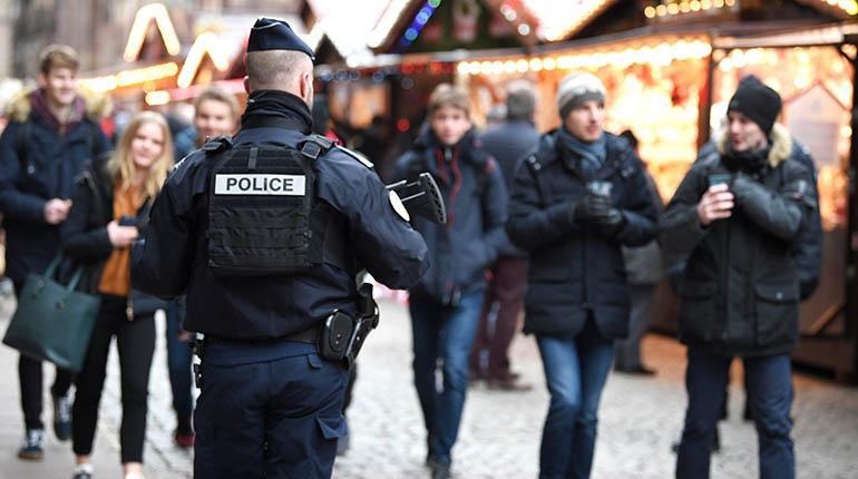La tensión disminuyo en Estrasburgo después que la policía abatió a Chérif Chekatt