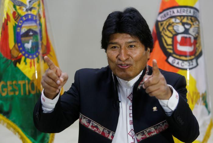 El presidente Evo Morales viajará este martes a Brasil para la investidura de Jair Bolsonaro