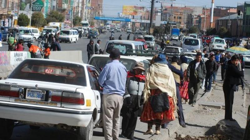 Federación Departamental de Choferes de 1ro de Mayo pide a la ABC no fallar con la entrega de la autopista La Paz-El Alto