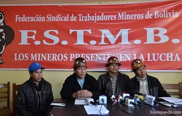 La FSTMB está dispuesto a movilizarse en defensa de la repostulación de Evo – Álvaro
