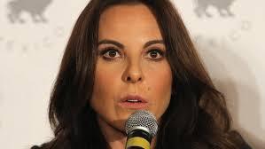 La actriz Castillo denuncia persecución política del Gobierno del expresidente de México