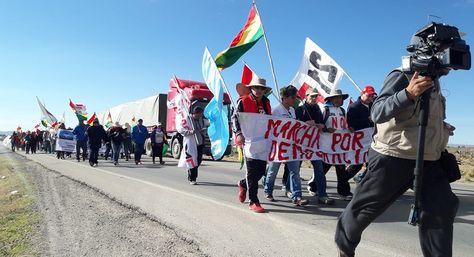 """La marcha por la """"Democracia"""" llega la jornada de hoy a la localidad de Tólar"""
