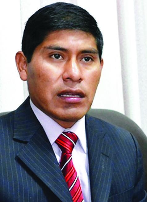 """La plataforma """"Bolivia Dice No"""" presenta una nota reclamando la recusación contra el vocal Alfonso Mamani"""