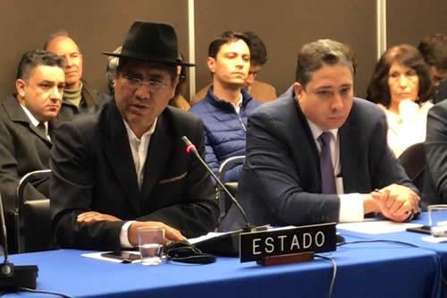 Oposición exige a la CIDH tomar medidas precautorias de forma inmediata
