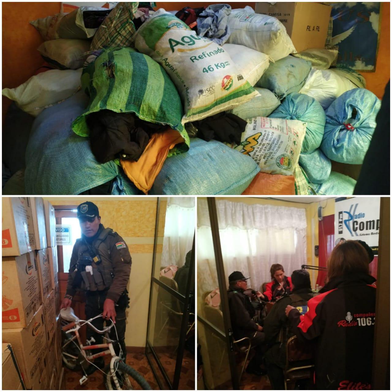 """PAC se une a la campaña """"El Buen Samaritano"""" con la entrega de ropa nueva y a medio uso"""