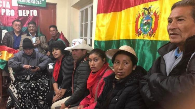 Plataformas del 21F y Cívicos deciden levantar la huelga de hambre instalada en la iglesia Carmelita