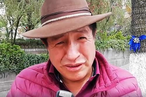 Rafael Quispe desafía a un debate en idioma nativo al binomio del MAS Evo – Álvaro