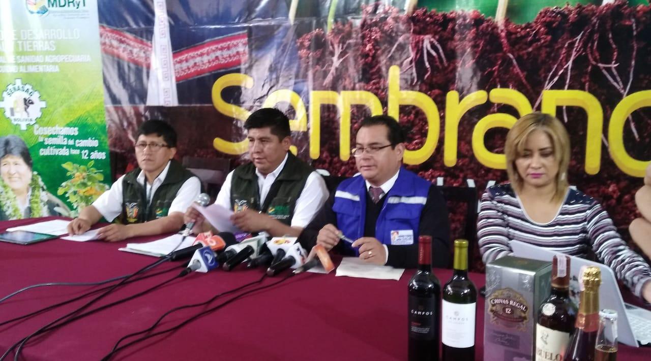 SENASAG afirma que el 99,9% de las empresas cumplen todas las normativas en La Paz para garantizar el bienestar de los panetones y bebidas