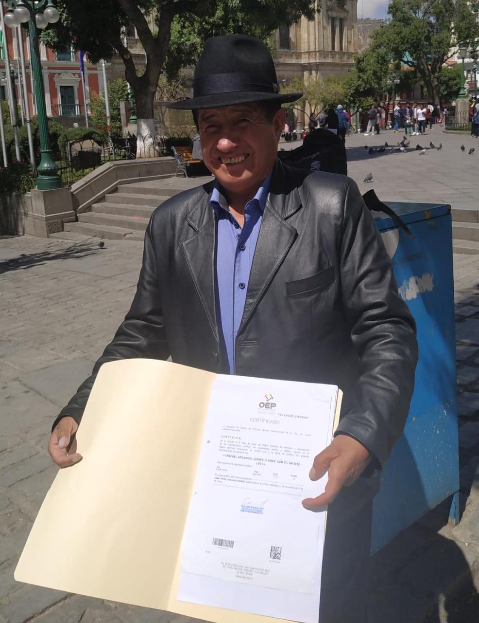 Diputado Quispe este lunes presentara ante el TSE impugnación contra el binomio Evo –Alvaro, mientras el MAS  lo expulsa como militante