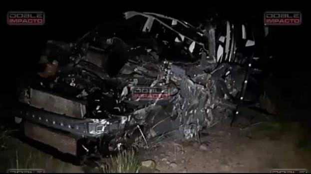Colisión de bus y una vagoneta en la carretera de Oruro – Potosí deja tres heridos