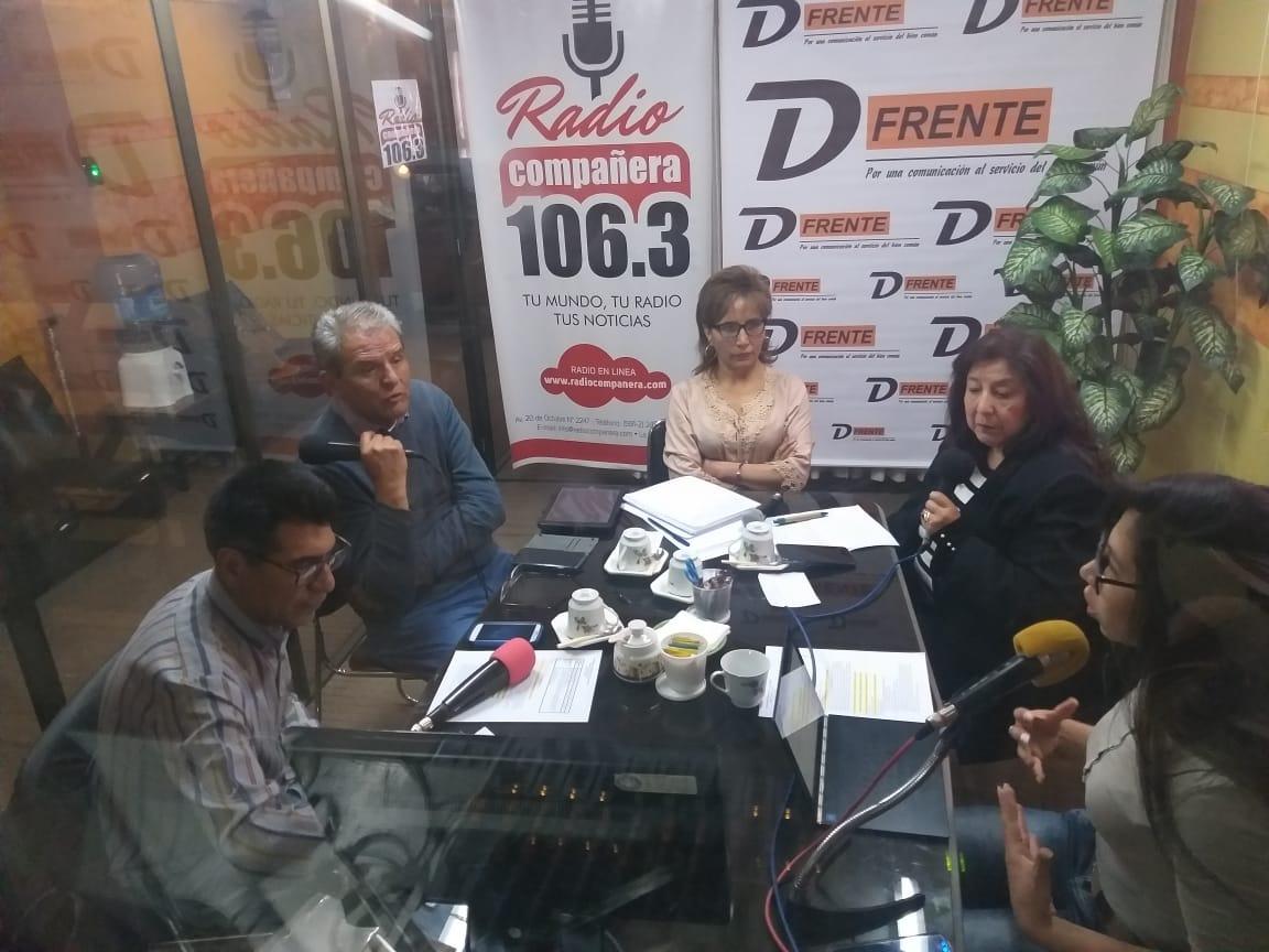 De Frente analiza el ejercicio de los derechos humanos en la ciudadanía boliviana