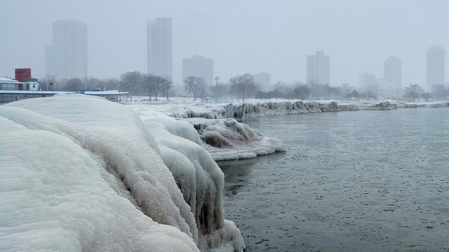 La histórica ola de frío en EEUU, consecuencia del calentamiento global